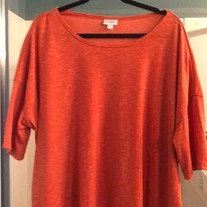 Lularoe Irma - Heathered Orange